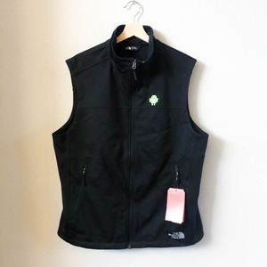 NWT Mens TNF The North Face APEX Black Shell Vest